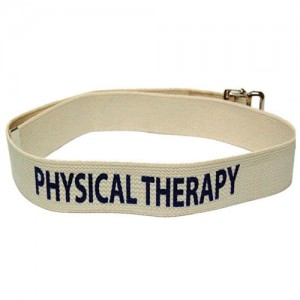 Physical Therapy Labelled Gait Belts