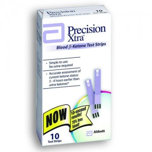 Precision Xtra Ketone Test Strips