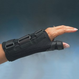 D-ring Thumb Spica and Wrist Splint