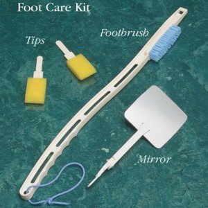 Dr Joseph's Diabetic Foot Care Kit with Body Sponge