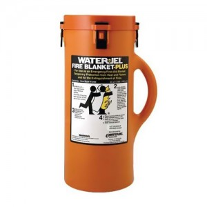 Water-Jel 6' X 5' Fire Blanket In Canister