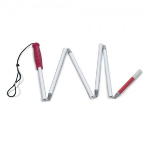 DMI Folding Cane for Visually Impaired