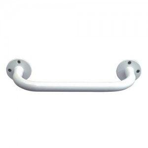 DMI White Vinyl-Coated Grab Bar