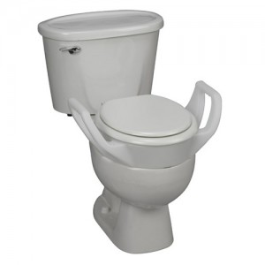 White Toilet With Black Seat. Quick View  DMI Toilet Seat Riser with Arms Raised Seats Elevated at