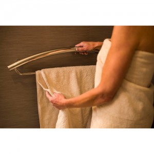 Invisia Collection Towel Bar and Support Rail