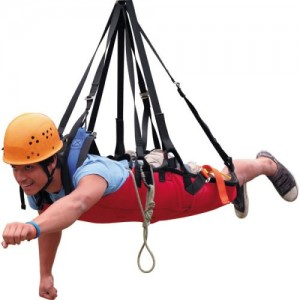 Fusion Super Ripper Zipline Harness
