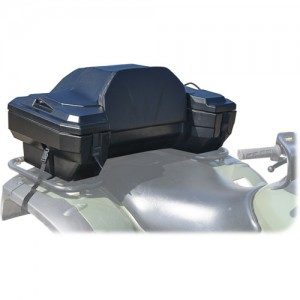 Deluxe ATV Cargo Box with Cushioned Backrest