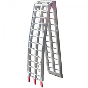Heavy Duty Arched Aluminum Motorcycle Folding Ramp