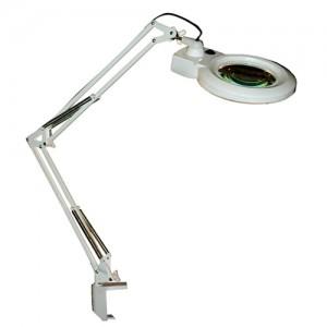 MG Electronics LED Desktop Magnifier w/ 3/5 Diopter Lenses