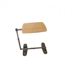 Able Life Universal Swivel TV Tray Table