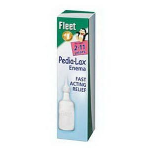 Fleet Pediatric Enema Saline Laxative for Children