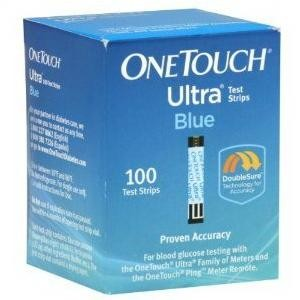 LifeScan One Touch Ultra Blue Test Strips