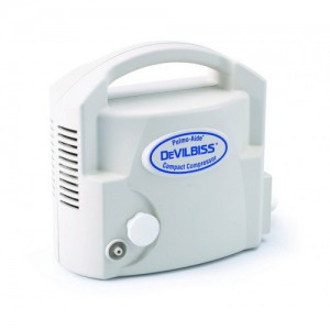 Drive Pulmo-Aide Compact Compressor Nebulizer System with Disposable Nebulizer