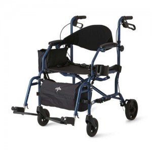 Medline Combination Rollator and Transport Chair