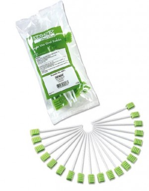 Sage Toothette Plus Untreated Oral Swab Stick