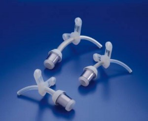 Smiths Medical Bivona Uncuffed Pediatric FlexTend Plus Tracheostomy Tube with Flange