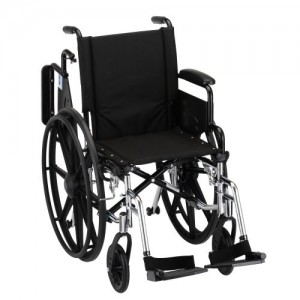 Nova Lightweight Wheelchair W/ Desk Arms & Footrests