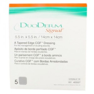 DuoDERM Signal 403327 | Square: 5.5 x .5.5 Inch by ConvaTec