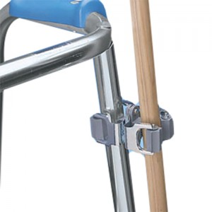 Cane Holder for Walkers and Wheelchairs