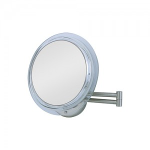 Zadro Surround Light Lighted Makeup Mirror 7X Wall-Mount