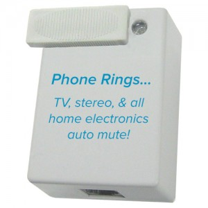 TV Silencer – Phone Call Home Electronics Silencer