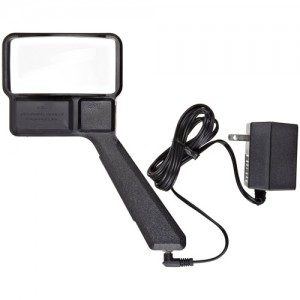 Donegan 3X Electric Lighted Magnifier