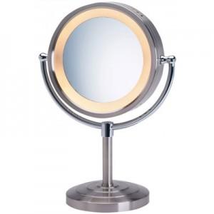 Jerdon 5X Lighted Vanity Magnifying Mirror