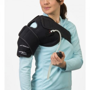 PolyGel ThermoActive Hot Cold Compression Shoulder Wrap