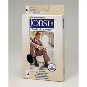 Jobst for Men OT Knee Highs Compression 30-40mmHg