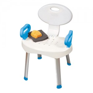 Carex EZ Bath & Shower Seat with Handles
