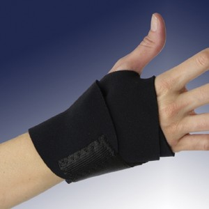 Banyan Black Neoprene Wrist Support - Adjustable - Black
