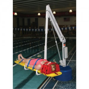 Spine Board Attachment for Revolution Pool Lift