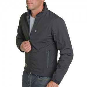 City Collection Soft Shell Heated Jacket - Black