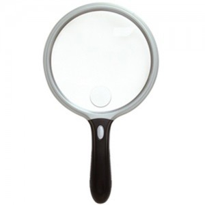 UltraOptix 5 inch Round Magnifier with Handle