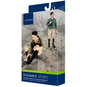 Sigvaris Merino Outdoor 15-20mmHg KneeHigh Compression Socks