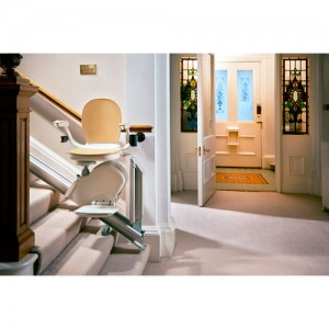 Acorn Superglide 130 Stairlift Indoor Hinged Rail Stair Lift