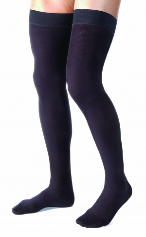 Jobst for Men 15-20 Thigh High Closed Toe Compression Socks