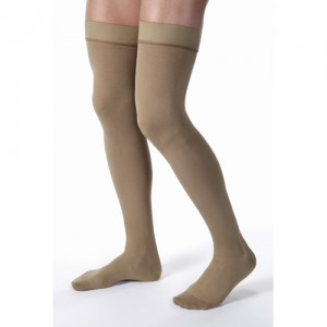 Jobst for Men 20-30 Thigh High Closed Toe Compression Socks