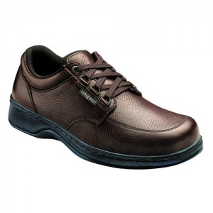 Orthofeet Avery Island Mens Fast Lace Orthopedic Shoes