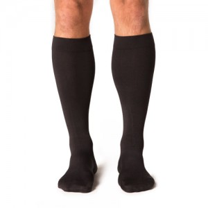 Midtown Microfiber Mens 30-40mmHg Knee High Closed Toe