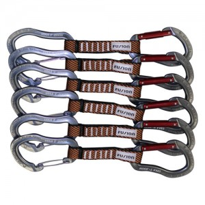 Fusion Techno Zoom Straight Gate/Wire Gate Carabiner