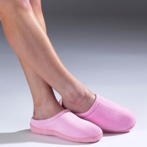 Memory Foam Slippers - Pink