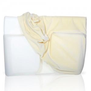 Velour Cover for Sleep Better Pillow - Cream