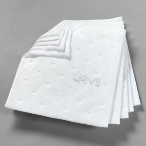 "3M Petroleum Sorbent Pad High Capacity 17"" x 19"""