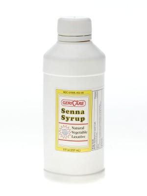 Senna Syrup Natural Vegetable Laxative