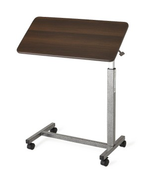 Tilt Top H-Base Overbed Tables