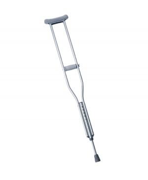 Push-Button Aluminum Crutches