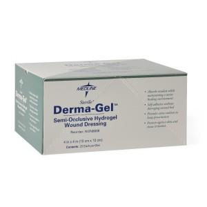 DermaGel Hydrogel Sheets, Latex Free