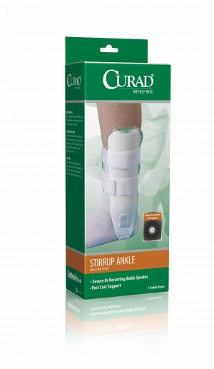 CURAD Universal Stirrup Ankle Splints