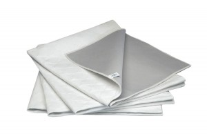 "MedLine Assorted Colors Barrier ""Wave"" Underpads"
